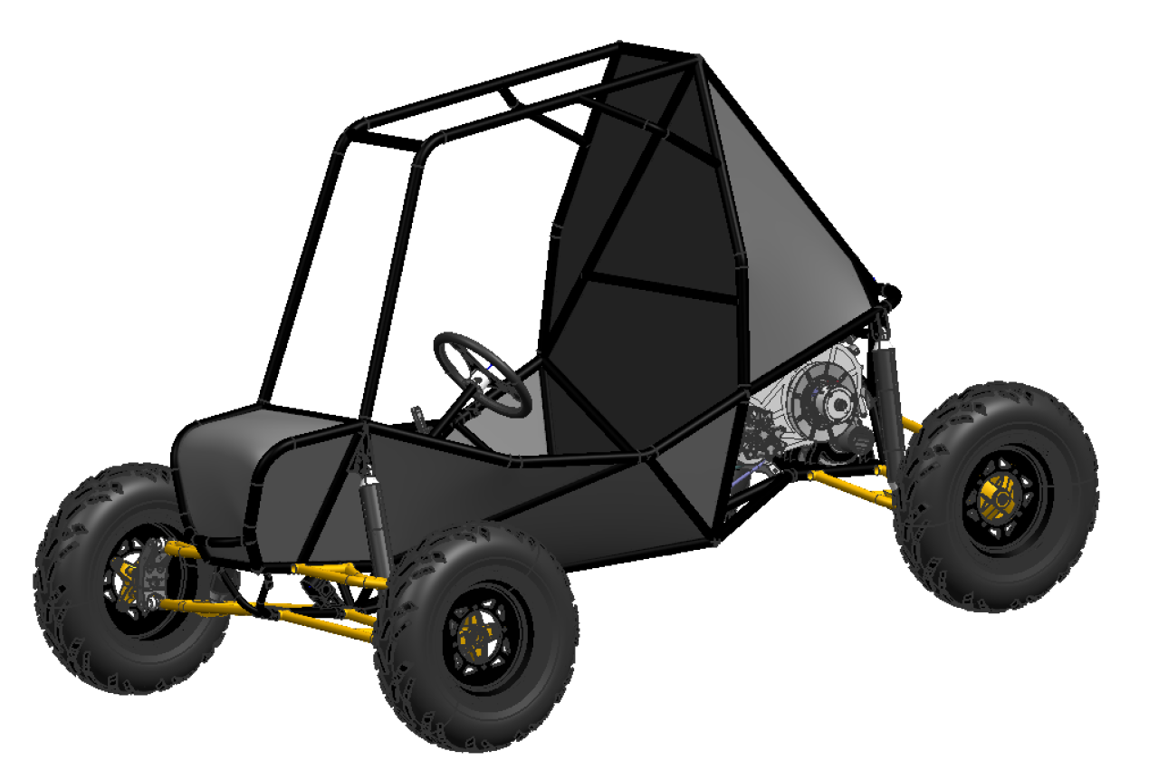 Most Technologically Advanced Mini Baja Car To Date It Is Expected Have The Lightest Chis Fastest Acceleration And Top Sd Highest Durability
